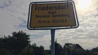 Friedersdorf schild