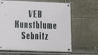 Firmenschild veb sebnitz bearbeitet 2